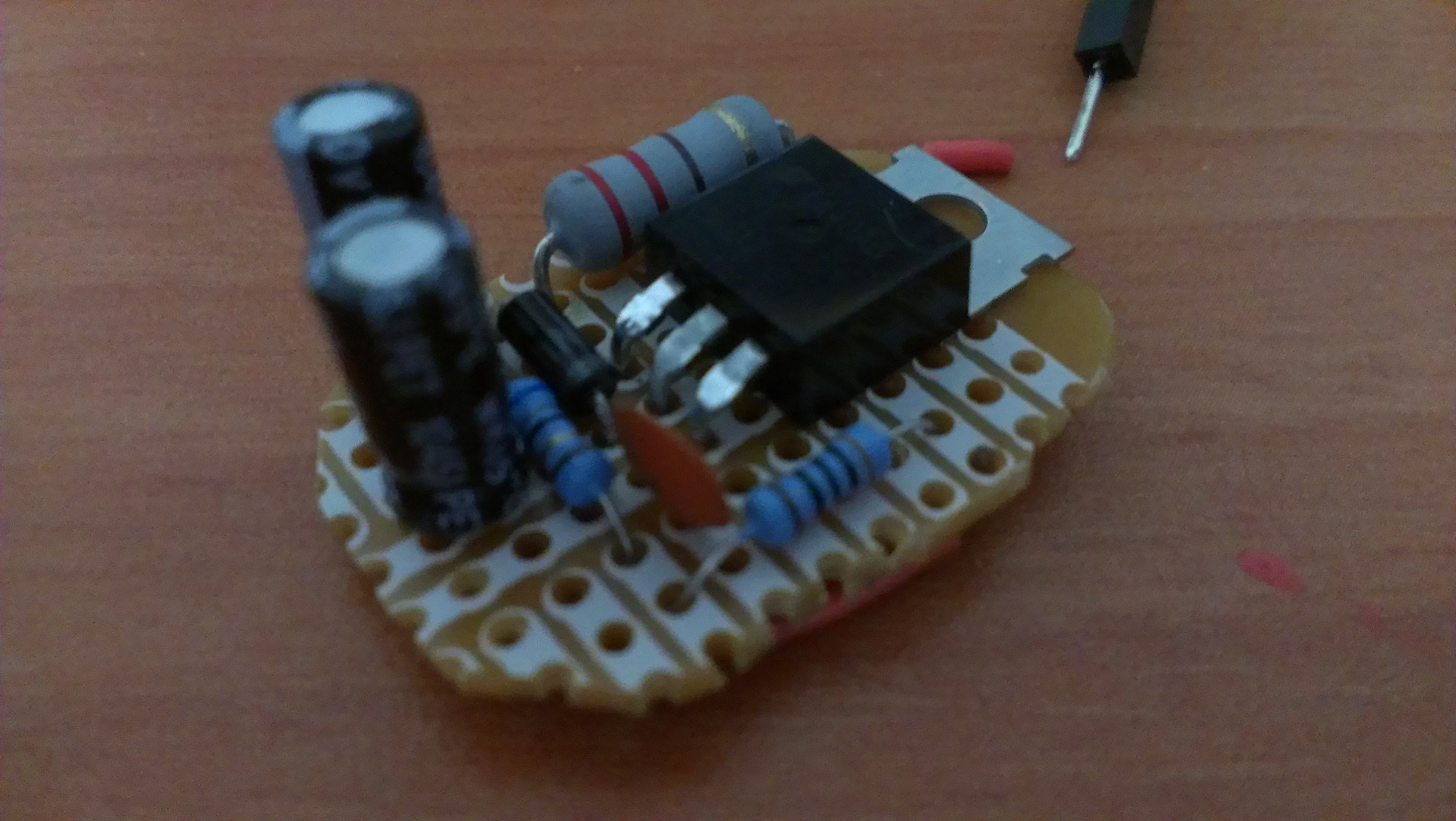 How To Build A Smart Lightbulb In Weekend Kytelab Blog Electronic Circuits Awesome Now We Can Power The Whole Project Wait No Cant Because Arduino Pins Are Bunch Of Wussies Who Only Drive 40ma